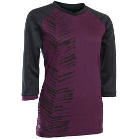 ION Scrub AMP Bike Jersey Shortsleeve Women pink/black